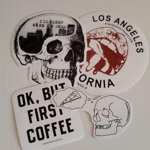 2017 Brandy Melville stickers